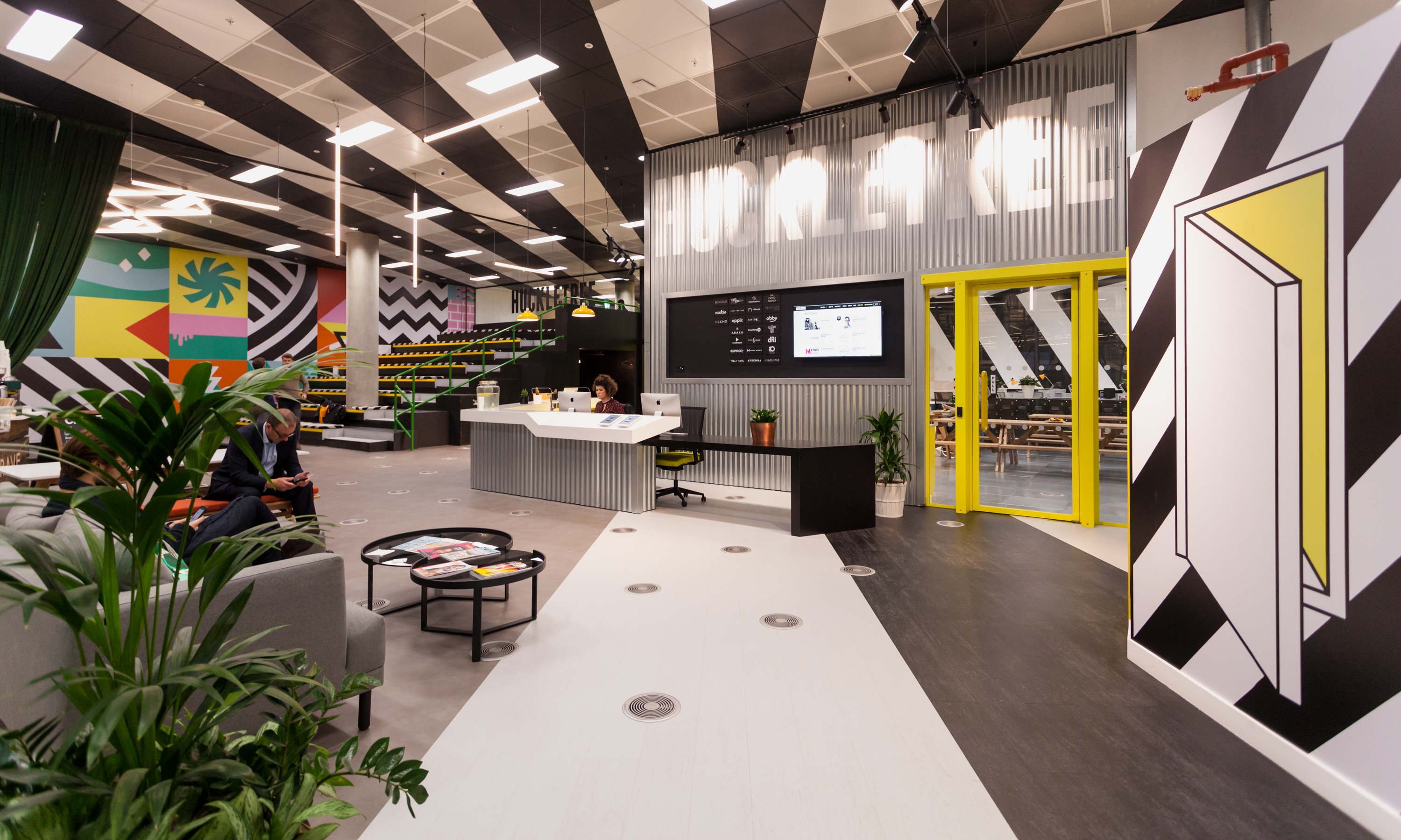 Huckletree West Reception